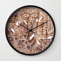 Fever Dreams Wall Clock