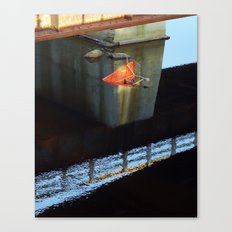 River Decay Canvas Print