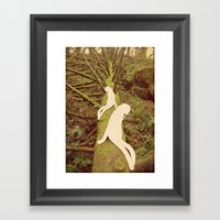 u o m i Framed Art Print