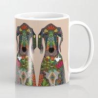Great Dane Love Beige Mug