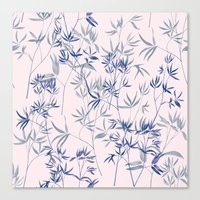 exotic blue Canvas Print