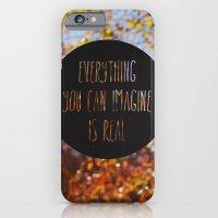 imagine the autumn bokeh iPhone 6 Slim Case
