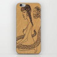 SnakeGirl  iPhone & iPod Skin