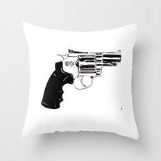 Gun #27 Throw Pillow
