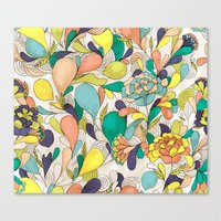 Balloons in bloom Canvas Print