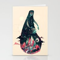 Night Time. Stationery Cards