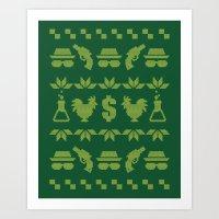 A White Christmas Art Print