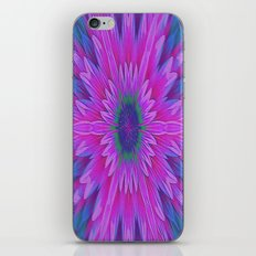 Pink Flower Kaleidoscope Abstract iPhone & iPod Skin