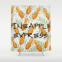 Pineapple Express Shower Curtain