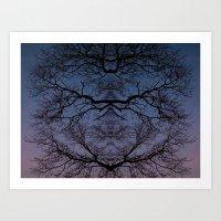 Symmetree Art Print