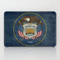 Utah State Flag - Vintag… iPad Case