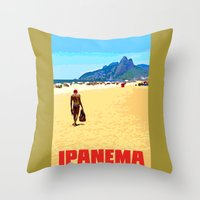 Ipanema Throw Pillow