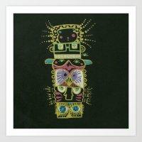 Gummy Totem Art Print