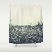 Sicily flowers Shower Curtain