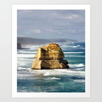 Key Hole Rock Art Print