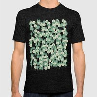 Geometric Woods Mens Fitted Tee Tri-Black SMALL