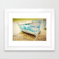 Cape Cod Blue Framed Art Print
