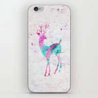 Pink And Turquoise Cute … iPhone & iPod Skin