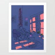 Art Print featuring Arte Nº 5 by Fernanda S.