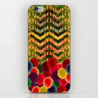 Chevron And Dots iPhone & iPod Skin