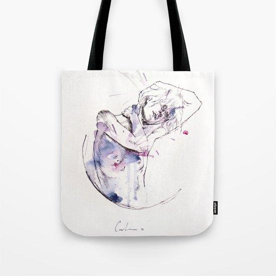 circles - con occhi porpora Tote Bag