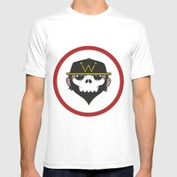 A Wicked Gentleman Mens Fitted Tee White SMALL