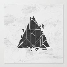 PLACE Triangle V2 Canvas Print