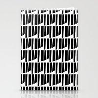 Westfranke Black & White Pattern Stationery Cards