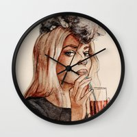 Addicted To Love Wall Clock