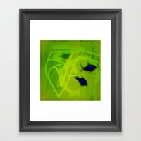 FISH&SHIPS Framed Art Print