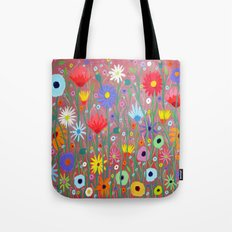 Flowers-Abstracts  Tote Bag