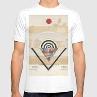 Prism Mens Fitted Tee White SMALL