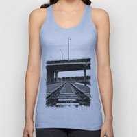 Nalley train tracks Unisex Tank Top