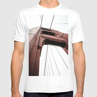 High Beams Mens Fitted Tee White SMALL