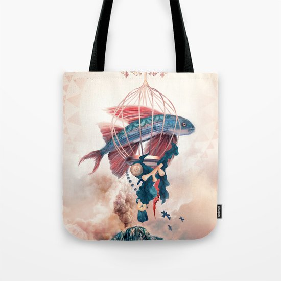 FlyFish Tote Bag