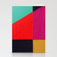 Red Triangle Stationery Cards