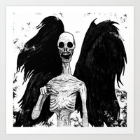 Angel of Death Art Print