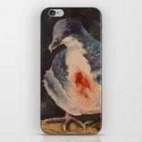Bleeding Heart Dove iPhone & iPod Skin