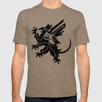 Tech Griffin Mens Fitted Tee Tri-Coffee SMALL