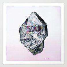 Herkimer Diamond  Art Print