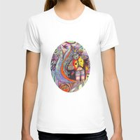 Glass Onion Womens Fitted Tee White SMALL