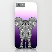 iPhone Cases featuring ELePHANT by Monika Strigel