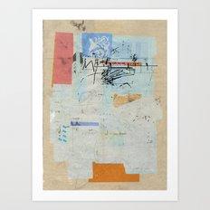 sedimenti 54 Art Print