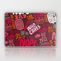 Rude Pattern Laptop & iPad Skin