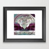 Iconic Swirl Framed Art Print