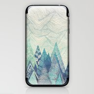 Mountain Crash iPhone & iPod Skin