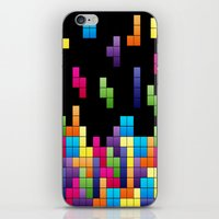 Tetris Troubles. iPhone & iPod Skin