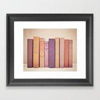Literary Gems II Framed Art Print
