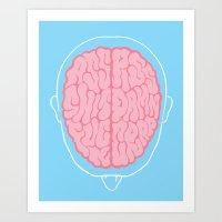 Dirty Mind Art Print