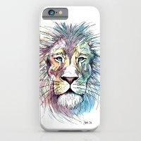 Technicolor Cat iPhone 6 Slim Case